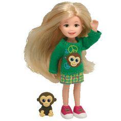 Ty Lil Ones - Awsome Abby with Monkey