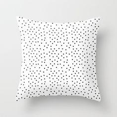 Random+Polka+///www.pencilmeinstationery.com+Throw+Pillow+by+Pencil+Me+In+™+-+$20.00