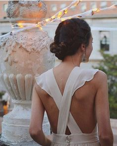 Pick a dress with an interesting back detail to add a point of difference to your look