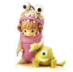 ★ New Precious Moments Disney Figurine Monster's Inc Boo Pixar Staute ★ | eBay