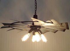 Windmill Farmhouse Chandelier Light - The Lamp Goods
