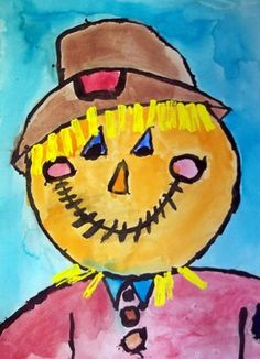 scarecrow painting