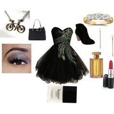 prom, created by #drue-young on #polyvore. #fashion #style Steve Madden Kate Spade
