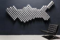 3-D-Akustikpaneele für die Wandgestaltung - Akustik - News/Produkte - baunetzwissen.de