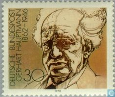 Literature on Stamps: Gerhart Hauptmann Samuel Beckett, Nobel Prize In Literature, Stamp Catalogue, Postage Stamps, Images, Germany, Poster, Gallery, Sorting
