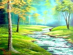 Bubbling Brook - The Joy of Painting S5E7