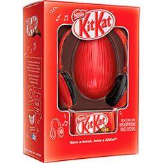 Ovo de Páscoa Kit Kat 340g com Headphone - Nestlé