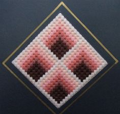 bargello stitches | bargello needlepoint geometric shapes straight stitch