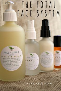With my carefully selected 100% organic, raw, unrefined ingredients, the Scratch Mommy Organic Skincare Total Face System is great for ALL skin types.  Looking to maintain your already clean and healthy skin? This will do it! Looking to soothe dry and flaky skin? With the nourishing ingredients I have selected…yup, this system is for you! Do you have troubles with acne or oily skin? You need this oil battling Face System!