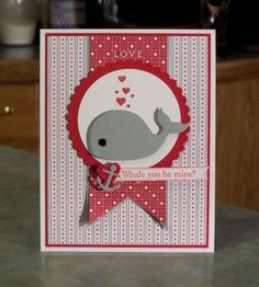 Valentines Day Card using Stampin