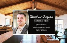 Need some help finding that dream home? Or maybe you need help selling your home and want to get top dollar for it! Give me a call text or email. I am always available to help with your Real Estate needs.  Give me a call or email today and let me show you why I am the right choice. (805)720-8114 MatthewRogers@KW.com PS: Go like my page! (Not sure what your house is worth? I also do free home evaluations)