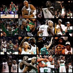 Paul Pierce and KG