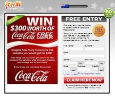 Win A Coca-Cola Free Samples