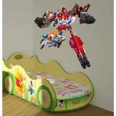 Full color decal Transformer sticker, Transformer wall art decal Sticker Deckal size 44x52