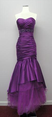 prom2014 Mermaid Style Prom Dresses, Grad Dresses, Homecoming Dresses, Dress Prom, Formal Dresses, Purple Outfits, Purple Dress, Glamorous Dresses, Purple Fashion