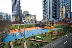 *어반 퍼블릭 파크 [ Peter Elliott Architecture + Urban Design ] A'Beckett Urban Square :: 5osA: [오사]