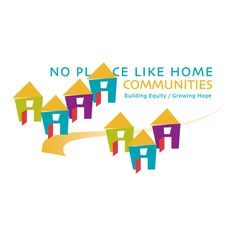 Logo for No Place Like Home Communities by The Design Company