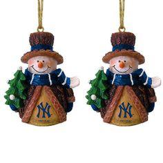 New York Yankees Snowman Ornaments - MLB.com Shop