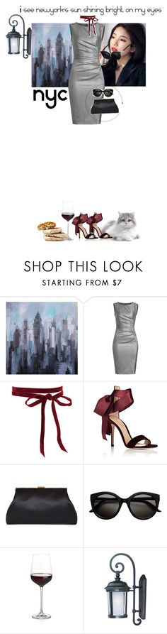 """""""Why I'm so afraid!"""" by www-som ❤ liked on Polyvore featuring MaxMara, Gianvito Rossi, Crate and Barrel and Maxim"""