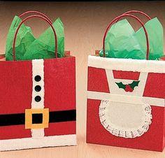 Santa & Mrs. Claus gift bags