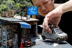 Taiwanese Artist Lives Large Dreams In Miniature Models