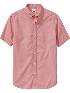 Mens Slim-Fit Patterned Shirts