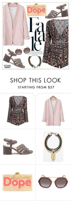 """""""Yoins"""" by teoecar ❤ liked on Polyvore featuring Vince Camuto, Edie Parker and Emilio Pucci"""