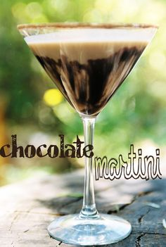 The luscious Chocolate Martini from our Signature Drink book  #internationalchocolateday #weddingideas