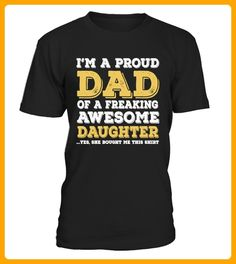 A Freaking Awesome Daughter - Shirts für onkel (*Partner-Link)