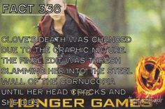 Why?!!! You know I just want an R rated hunger games so it can show all the deaths according to the books
