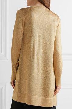 Missoni - Metallic-knit Cardigan - Gold - IT36