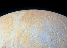 The Frozen Canyons of Pluto's North Pole - SpaceRef