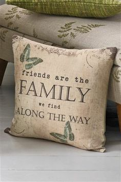 Family Printed Cushion