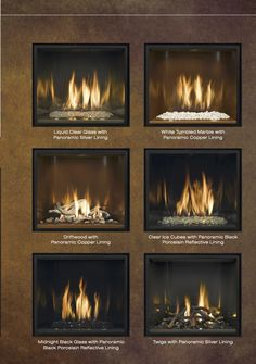 Mendota Fireplace W River Rock Driftwood For The Home Pinterest Fireplace Inserts