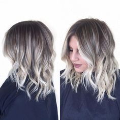 Babylighted sombre♥️ #babylights #hairpainting #summerhair #brightblonde #icyblonde #prettyhair #balayage #sombre #shorthair #hairstyles #hairinspo