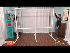 Tanya Memme DIY: A Drive-In Movie Screen! Part 2 - YouTube