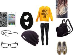 """""""good student"""" by malekmaissa ❤ liked on Polyvore"""