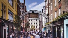 The 13 streets of Carnaby are known for unique boutiques and global flagship brands, making it one of London's most popular and distinctive shopping destinations.