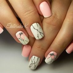 Hey there lovers of nail art! In this post we are going to share with you some Magnificent Nail Art Designs that are going to catch your eye and that you will want to copy for sure. Nail art is gaining more… Read Diy Nails, Cute Nails, Pretty Nails, Spring Nails, Summer Nails, Nagellack Trends, Flower Nail Art, Beautiful Nail Designs, Creative Nails