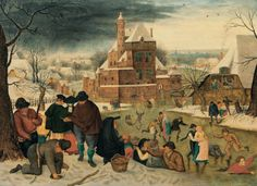 Winter by Pieter Brueghel the Younger