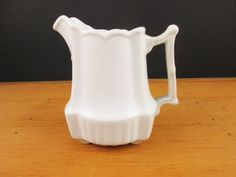 White on White 'Johnson Brothers Royal Ironstone by VintagePottery