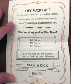 perfect way to ask your groomsman best man to be in the wedding