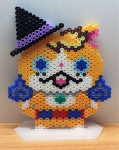 イメージ0 - 日記♪ アイロンビーズ☆六角L★ハロウィンの帽子を被った妖怪たち(^-^)♪の画像 - seinatouchのアイロンビーズ図案ブログ♪六角L結合 他♪ - Yahoo!ブログ