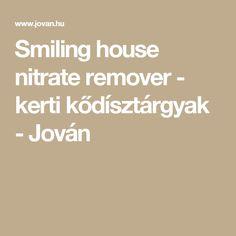 Smiling house nitrate remover  -  kerti kődísztárgyak - Jován