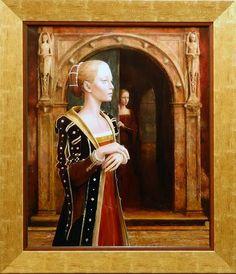 Kacper Kalinowski... Modern Gothic, Princess Zelda, Painting, Fictional Characters, Paul Klee, Design, Feels, Art, Art Background