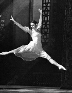 People's Artist of USSR Maya Plisetskaya as Juliette performing a scene from Sergei Prokofiev's ballet Romeo and Juliette.