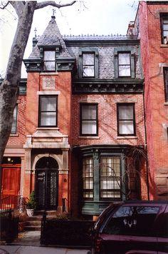 334 Clinton St., Cobble Hill, Brooklyn. Built in 1850