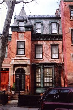 334 Clinton St., Cobble Hill, Brooklyn. Built in 1850