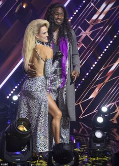 Bottom two: Peta Murgatroyd and Vernon Davis were in the bottom two with Jesse and Sharna