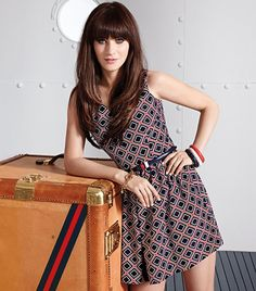 Zooey Deschanel and Tommy Hilfiger Team Up, Adorable Outfits Ensue via Who What … - Makeup 2019 Zooey Dechanel, Zooey Deschanel Style, Tommy Hilfiger, Hilfiger Denim, Estilo Preppy, Models, Mode Inspiration, Pretty Hairstyles, Girl Crushes